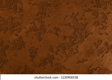 Russet Orange texture decorative Venetian stucco for backgrounds