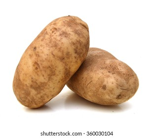 A russet potato (Idaho potato)