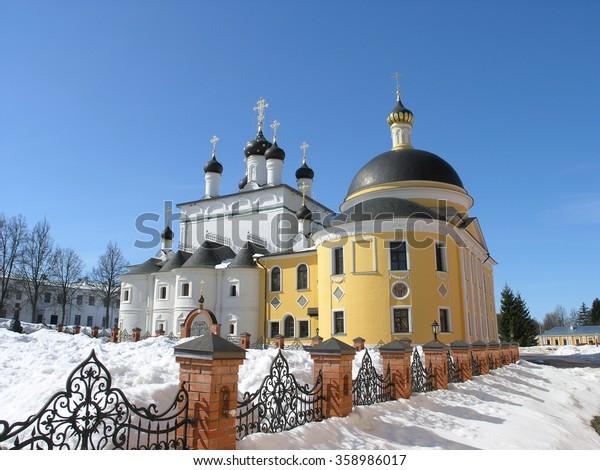 Russia. Ascension of David desert monastery.