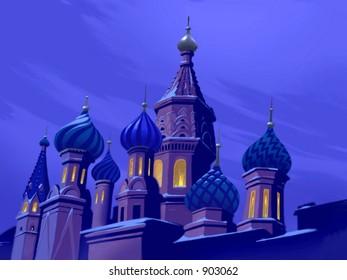 Russia Castle