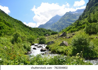Russia, the Caucasian biosphere reserve, source of the river Imeretinka