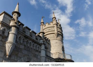 Russia. Gaspra. Swallow's Nest. 09/14/2016