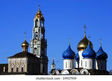 Russia. Golden Ring. Sergiyev Posad. Troitse-Sergiyeva (Trinity) Lavra