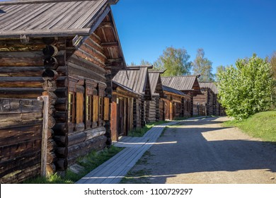 Russia, Irkutsk, Taltsy Museum, Listvyanka, lake Baikal, tourism, attractions, old wooden houses and buildings, summer, landscape