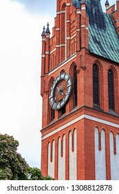 Russia, Kaliningrad: Kirche of the Holy Family. Built in 1907. Kaliningrad Regional Philharmonic.