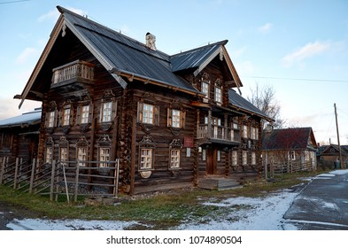 Russia. Karelia. Petrozavodsk. Sheltozero Veps Ethnographic Museum named after R. P. Lonin. November 15, 2017