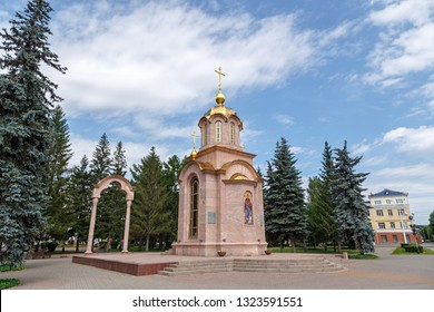 Russia, Kemerovo. Chapel of the Icon of the Mother of God of All Who Sorrow Joy in Kemerovo