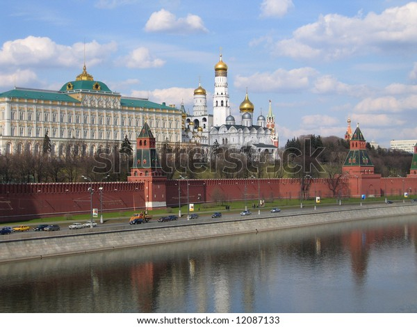 Russia. Kind to the Moscow Kremlin.