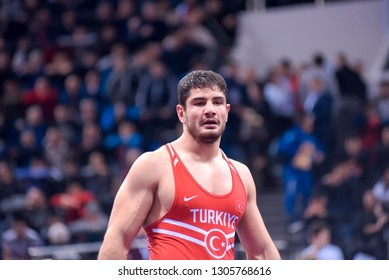 "Russia, Krasnoyarsk 24-27.01.2019 UWW Grand Prix ""Ivan Yarygin-2019"".Tournament freestyle wrestling."