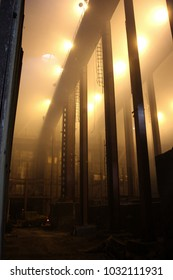 Russia, Krasnoyarsk region. Norilsk. Polar Division of MMC Norilsk Nickel, Copper Plant.