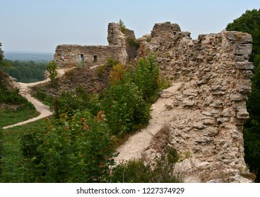 Russia. Leningrad region. Village Kopor'e. Koporskaya Fortress. View from the wall 2006 year