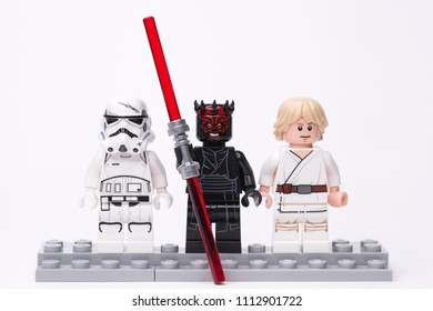 Darth Vader by Lego 5x LIGHTSABERS for Star Wars Minifigures Darth Maul Luke