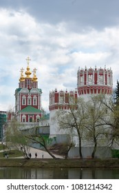 Russia, Moscow - 2018 April 29: Novodevichy Convent