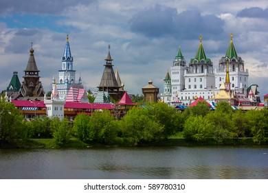 RUSSIA, MOSCOW - 21 May 2016 : Izmailovo Kremlin.