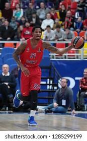 Russia. Moscow. Arena Megasport. January 11, 2019 ã. Will Clyburn during the Euroleague basketball match 2018/2019 between CSKA (Russia) vs Maccabi (Israel)