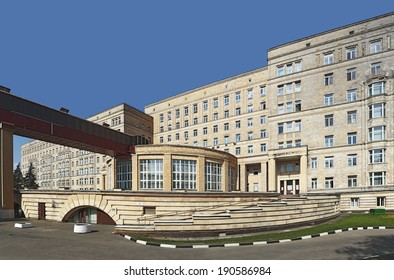 Russia. Moscow. Central Clinical Hospital of administration of the President. May 5, 2014.