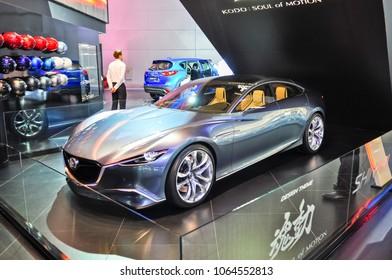 Russia, Moscow, Expocentre, 29 August - 9 September 2012: Mazda Shinari concept 4th Moscow International Automobile Salon (MIAS 2012)