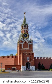 Russia. Moscow. Kremlin. Kremlin tower. Landmarks. Summer.
