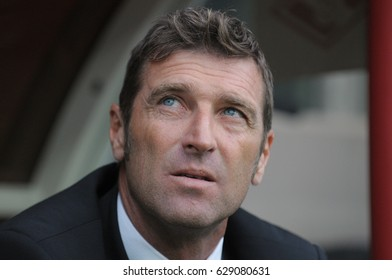 RUSSIA, MOSCOW, MARCH, 2017: Head coach of the Spartak Moscow football club Massimo Carrera