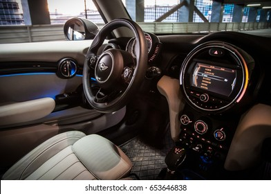 Mini Cooper Interior >> Mini Cooper Interior Stock Photos Images Photography