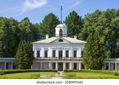 """Russia, Moscow region, 07, June, 2015: The farmstead """"Serednikovo"""""""