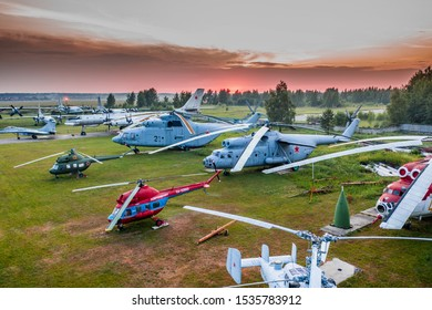 RUSSIA, MOSCOW REGION, MONINO, - Jun 25, 2019: The Russian Federation Central Air Force Museum