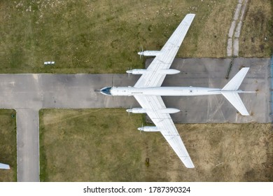 RUSSIA, MOSCOW REGION, MONINO, - Jun 25, 2020: The Russian Federation Central Air Force Museum, tu95