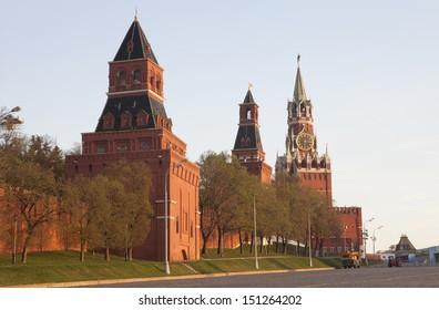 Russia. Moscow. Vasilevsky descent