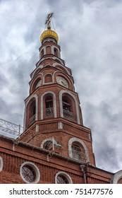 Russia, Novocheboksarsk, 22,10,2017 The Cathedral of the Holy Equal-to-the-Apostles Prince Vladimir, Novocheboksarsk