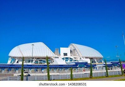 Russia - October 2 2018 Sochi Park.Stadium football arena Fisht