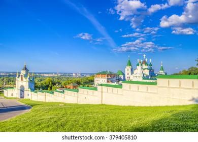 Russia Pechersky ascension monastery in Nizhny Novgorod