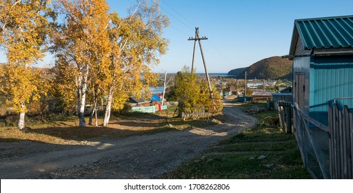 Russia. Primorye.  View of Terney.