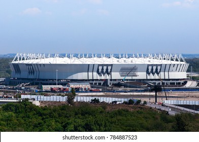 Russia, Rostov-on-Don - March 20, 2017: Football stadium Rostov Arena. The stadium for the 2018 FIFA World Cup.