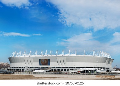 Russia, Rostov-on-Don - March 20, 2018: Football stadium Rostov Arena. The stadium for the 2018 FIFA World Cup.