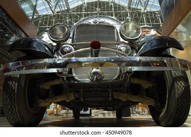 "Russia. Rostov-on-Don. ""Rostvertol"" Exhibition Pavilion. 27.05.2011 Car 39 release. Mercedes Benz"