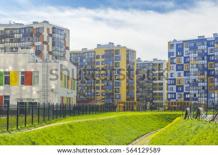 RUSSIA SAINTPETERSBURG May 2016 Houses Project Stock Photo Edit Now