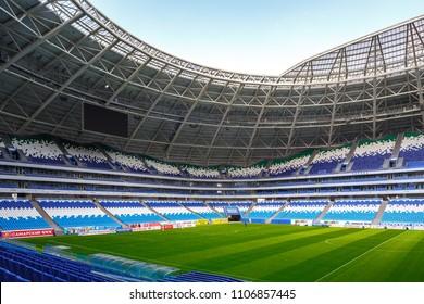 Russia, Samara - 05 17 2018: football stadium for world cup 2018 in Samara, Russia