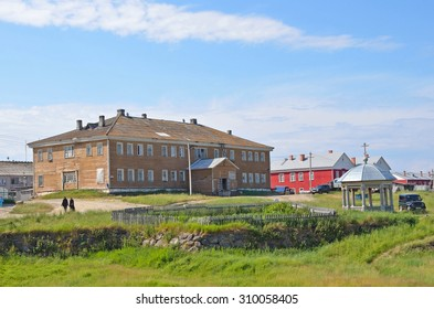 Russia, Solovki, typical architecture