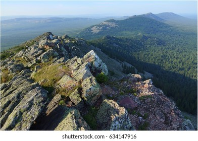 Russia, South Ural Mountains, The Greater Suka Range