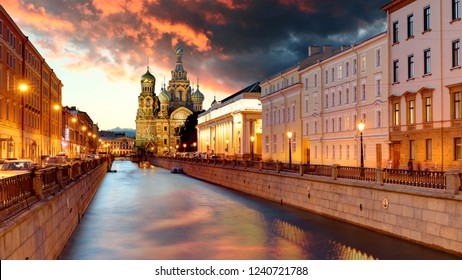 Russia, St. Petersburg - Church Saviour on Spilled Blood
