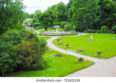 RUSSIA, ST. PETERSBURG - JUNE 23/13: In the Tsarskoe Selo the park was opened after the restoration.