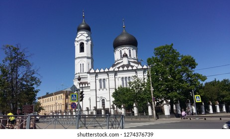 Russia St. Petersburg, Lomonosov June 19, 2017. Cathedral of the Archangel Michael in Lomonosov. The picture was taken on June 19, 2017.