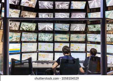 Russia, St. Petersburg - March 13, 2017: Control Center Grand Museum - the city of St. Petersburg.