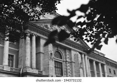 Russia St.petersburg BlackAndWhite OldPhoto 35mm Film Architecture Gogol Culture Kodak Zenit Church History Analog OldCamera Vintage