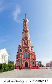 Russia. Tambov city. Cathedral of the Ascension in Ascension Monastery