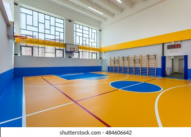 Indoor Basketball Court Background Images, Stock Photos & Vectors ...