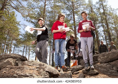 Orienteering in Tyumen. Competitions Russian azimuth 2017