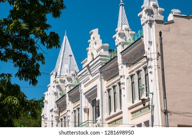 Russia, Vladivostok, July 2018 .: Pushkin Theater of City of Vladivostok in  summer