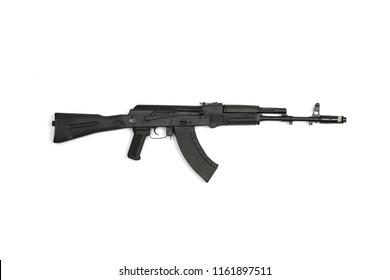Russian black machine automatic right side