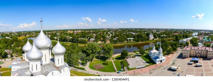 Russian city Vologda panorama Вологда панорама пейзаж